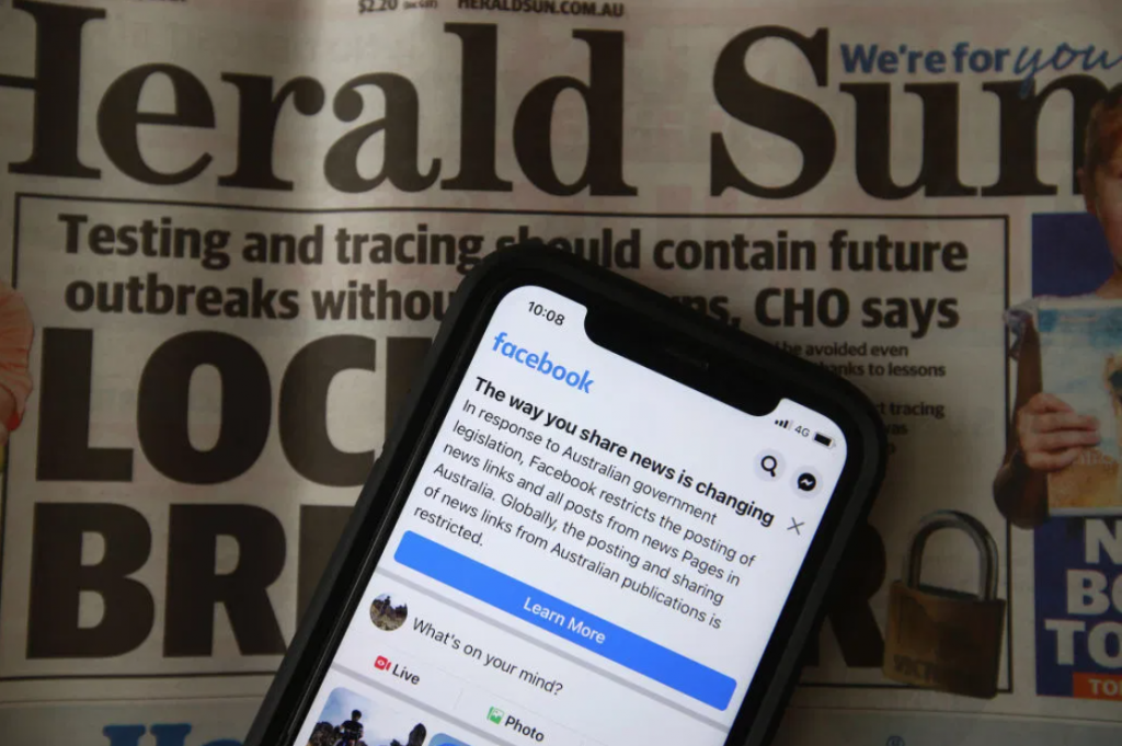 Facebook Agrees to Restore Australian News Pages After Amendments to Government Code