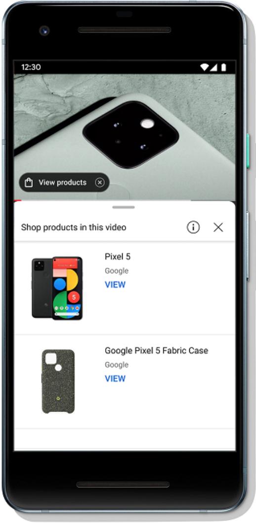 YouTube Shop-in-Platform