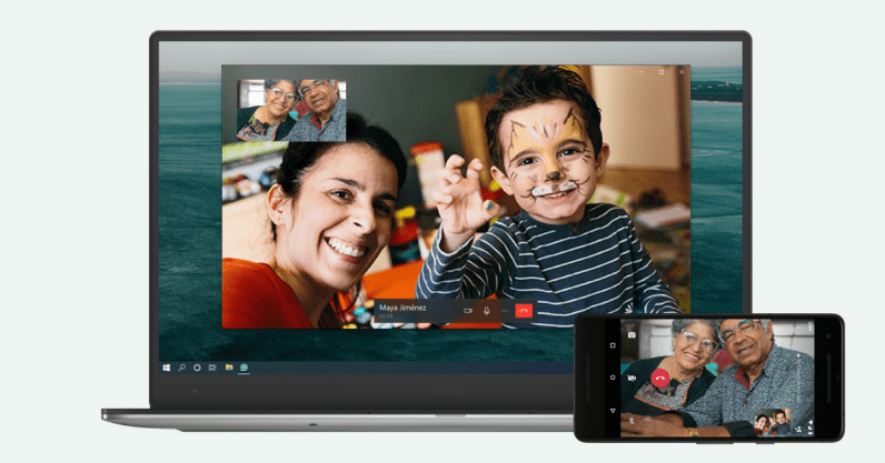 whatsapp desktop video calls