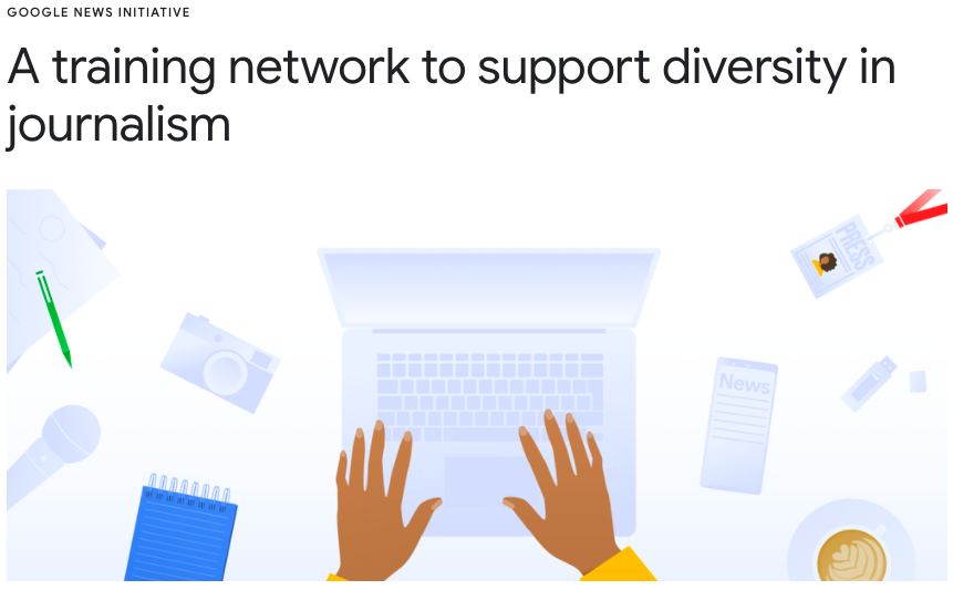Google to support diversity in journalism