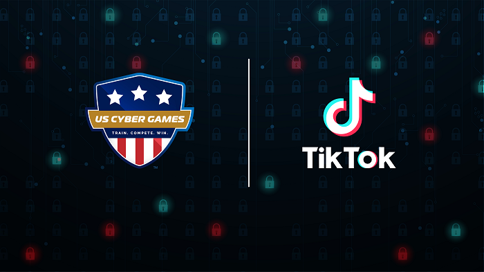 TikTok social, cybersecurity sponsor