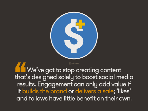 Content that builds value