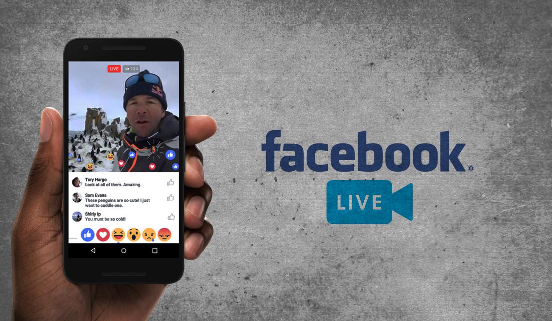 how to live on facebook.com