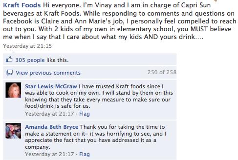 Facebook | Kraft Foods