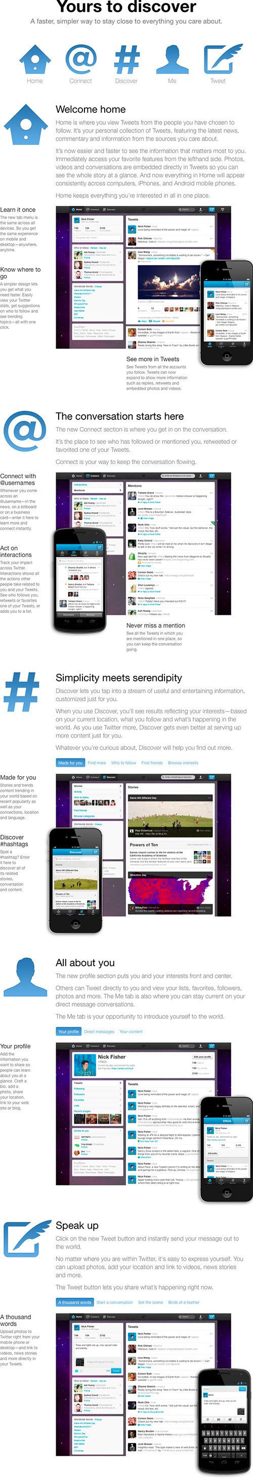 A first look at Twitter's redesign