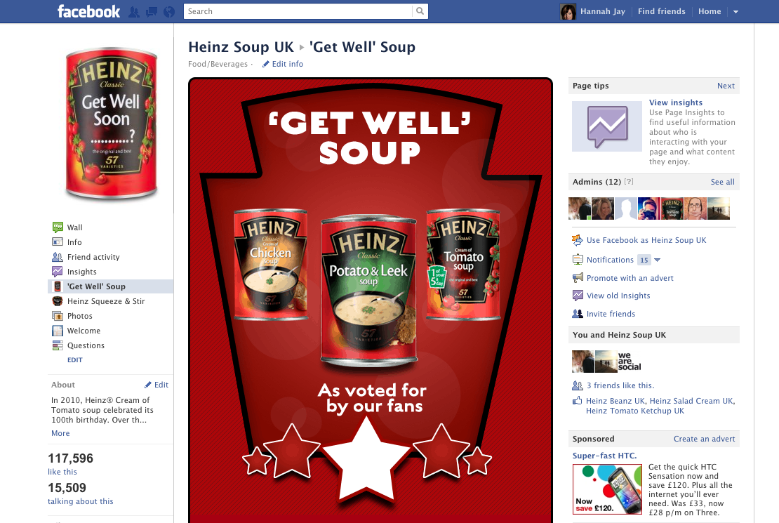The Return Of Heinz Get Well Soup We Are Social Uk Global
