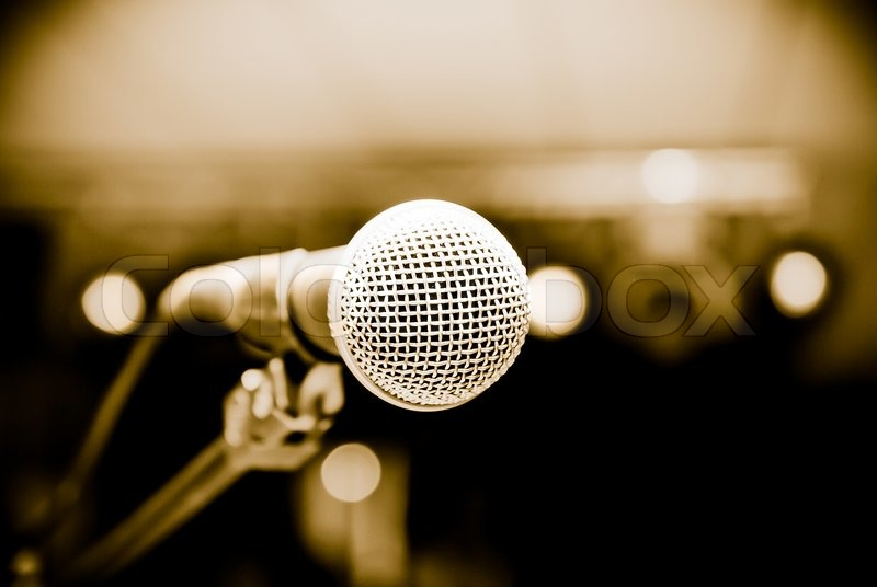 2993602-microphone-in-studio-on-a-blur-background