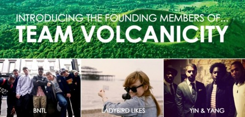 Introducing the Founding Members of Team Volcanicity