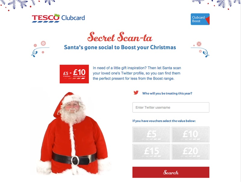 Using Twitter to find perfect Xmas gifts - We Are Social USA