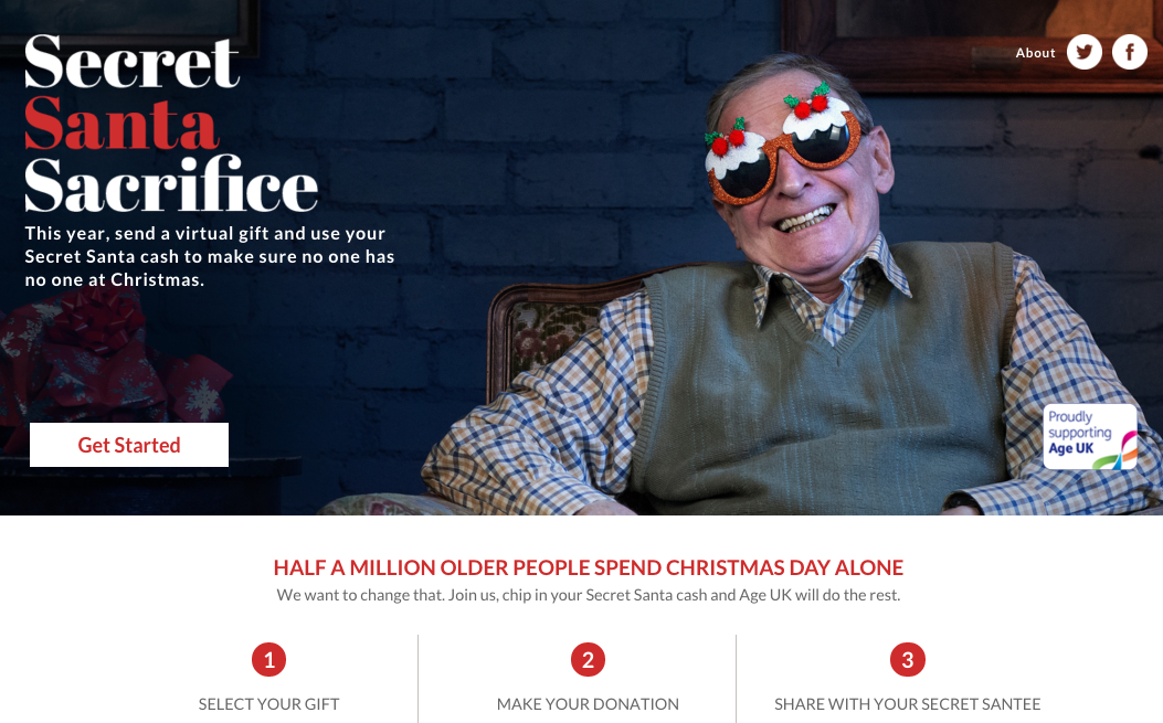 ditch the secret santa tat and help age uk we are social usa