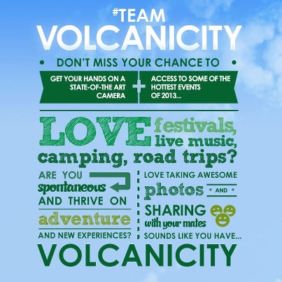 Team Volcanicity: The search is on...