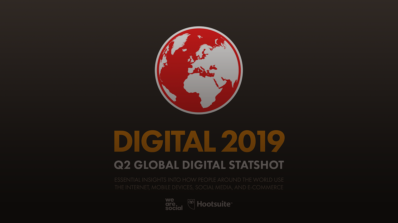 The state of digital in April 2019: all the numbers you need
